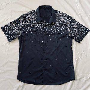 Coofandy Men's Casual Graphic Short Sleeve Shirt